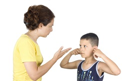 how nannies can respond to disrespectful children